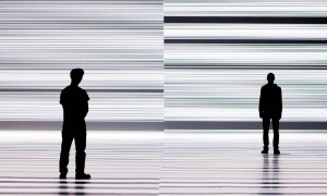 Ryoji Ikeda, test pattern [enhanced version], 2011 © Ryoji Ikeda Image: Park Avenue Armory New York and Forma © James Ewing